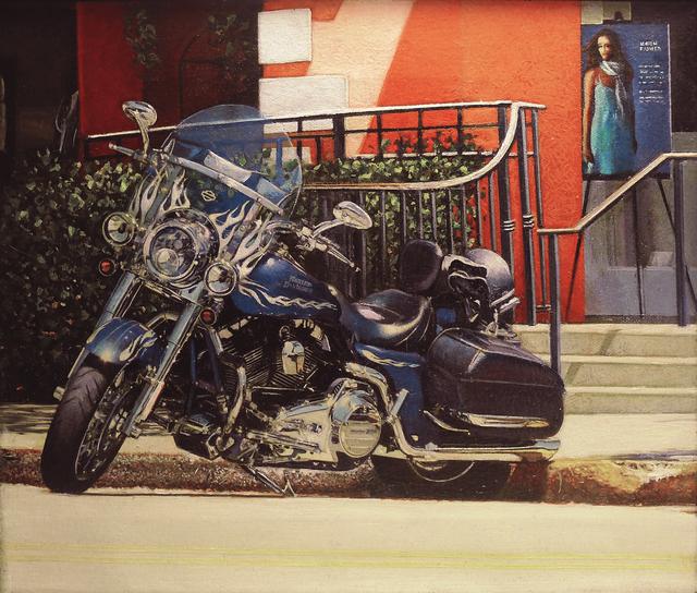 , 'Parked Harley Third Street Naples,' 2010, Louis K. Meisel Gallery