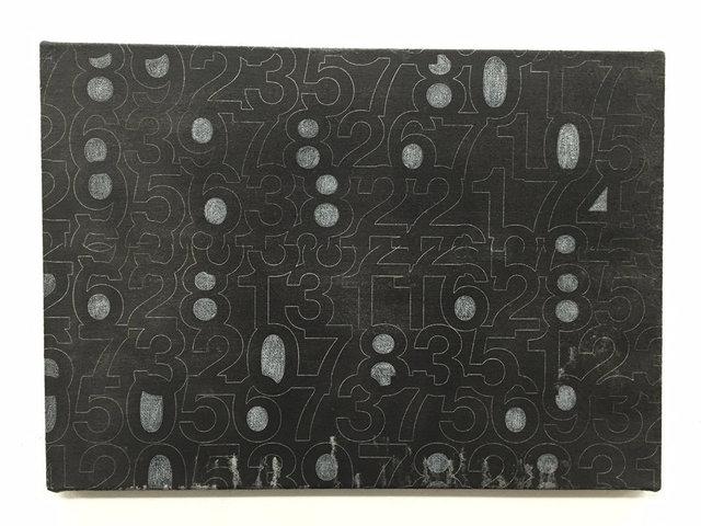 , 'Numbers,' 2016, KÖNIG GALERIE