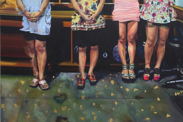 , 'Gold Series - Fracture,' 2015, Klein Sun Gallery