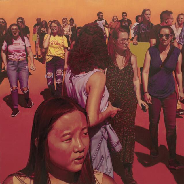Mary Henderson, 'Forward', 2021, Painting, Oil on panel, Mana Contemporary
