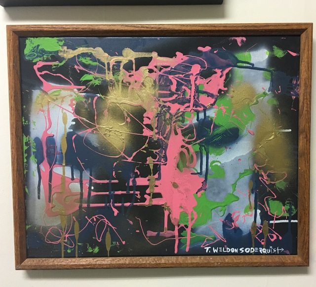 , 'Oil Spill,' 2016, Smitkit Studio
