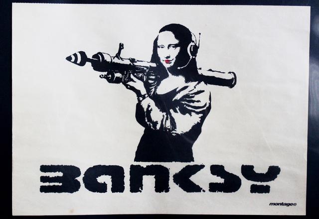 Banksy, 'Mona Bazooka Promo Poster', 2002, EHC Fine Art Gallery Auction