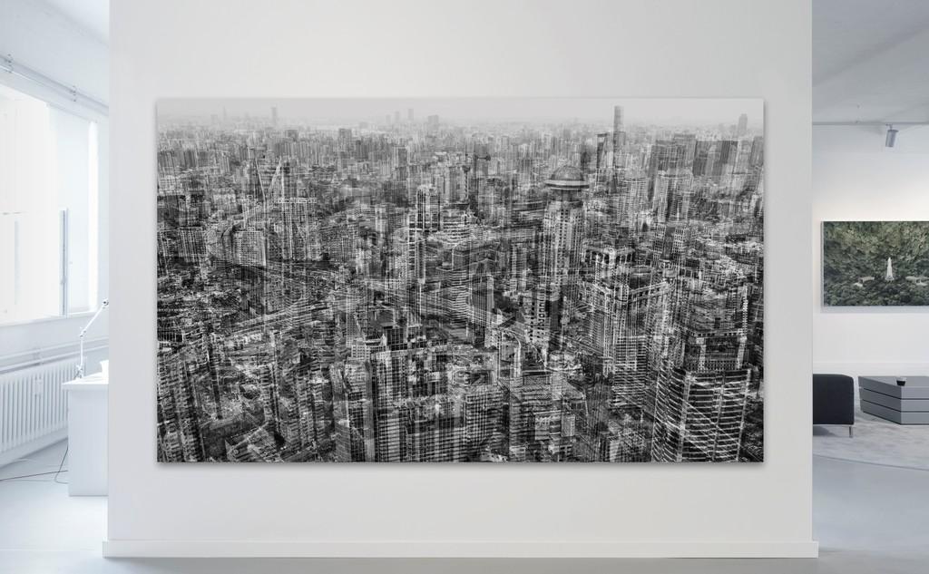 Michael Najjar / netropolis | shanghai | 2017