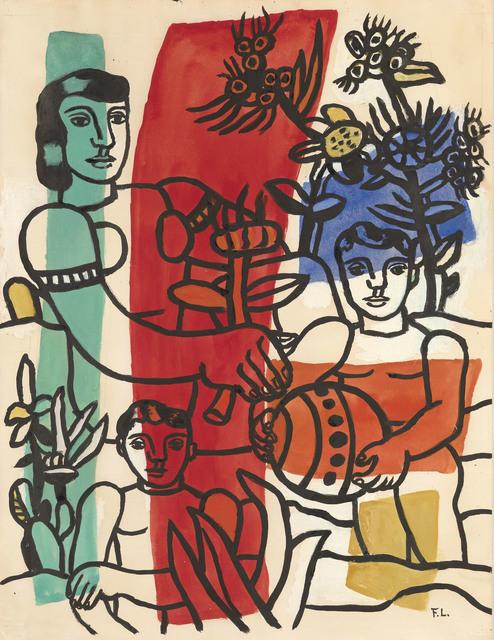 , 'Le Bonheur,' 1953-1954, Connaught Brown