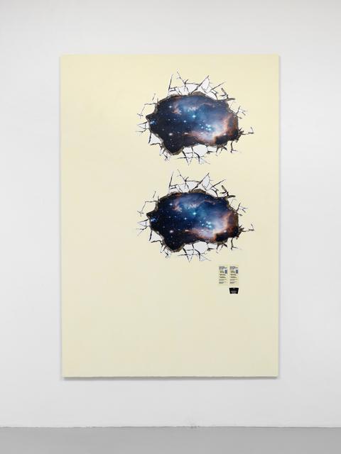 , 'V (Crónicas Pegajosas),' 2015, Ribordy Contemporary