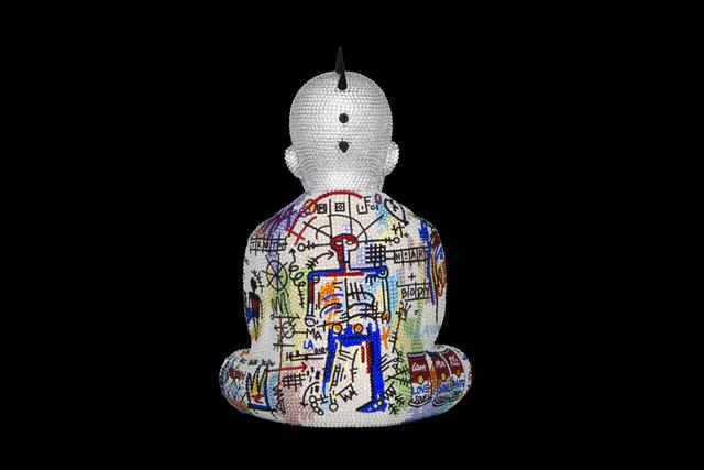 Metis Atash, 'Punk Buddha Soulmates III feat. Basquiat', ca. 2019, Samuel Lynne Galleries