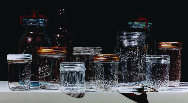 , 'Canning Jars on Black,' , Gallery 1261