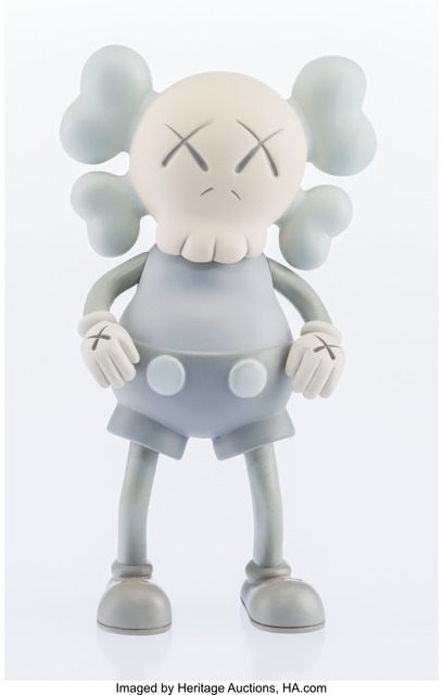 KAWS, 'Companion (Grey)', 1999, Other, Painted cast vinyl, Heritage Auctions