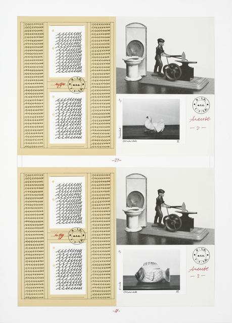 , 'Evolution Leibniz,' 1986, Galerie Crone
