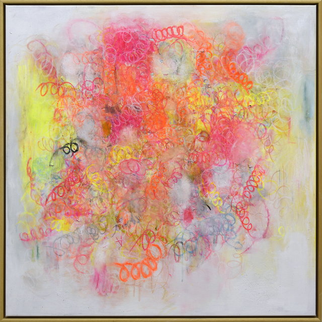 "Matthew Adam Ross, '""Colorful Curly 1"" ', 2019, James Wright Gallery"