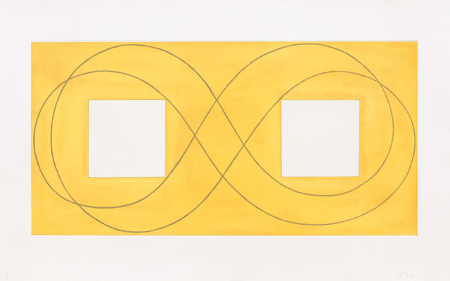 , 'Double Square Frame I,' 2015, Talley Dunn Gallery