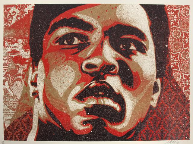 Shepard Fairey (OBEY), 'Muhammad Ali', 2006, Julien's Auctions