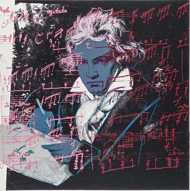 Andy Warhol, 'Beethoven', 1987, Van Ham