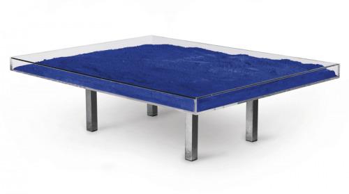 Yves Klein, 'Blue Table', 1963, David Benrimon Fine Art