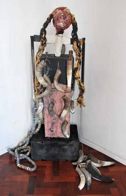 , 'Taciturna y solitaria,' 2016, Mite