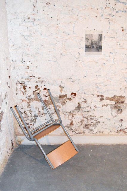 , 'CHAIR AND REFERENCE: BARRICADE,' 2018, Hans & Fritz Contemporary