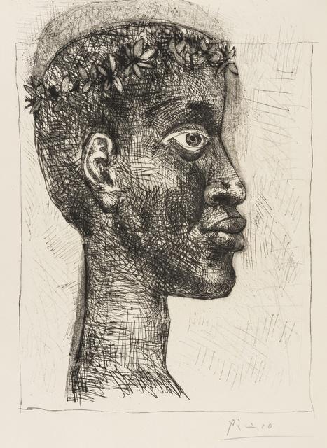 Pablo Picasso, 'Négre Portrait d'Aimé Césaire (Bloch 633)', 1949, Forum Auctions