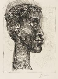 Pablo Picasso, 'Négre Portrait d'Aimé Césaire (Bloch 633),' 1949, Forum Auctions: Editions and Works on Paper (March 2017)