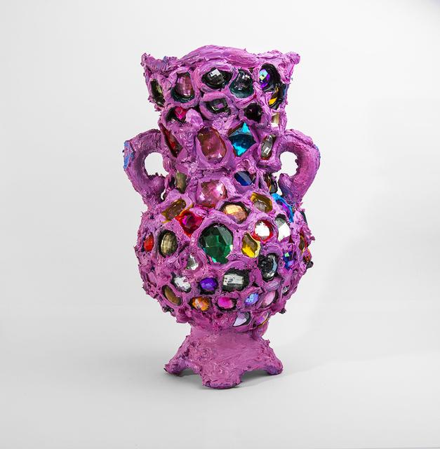 , 'Bubblegum Pink Bedazzle Vase,' 2016, SMAC