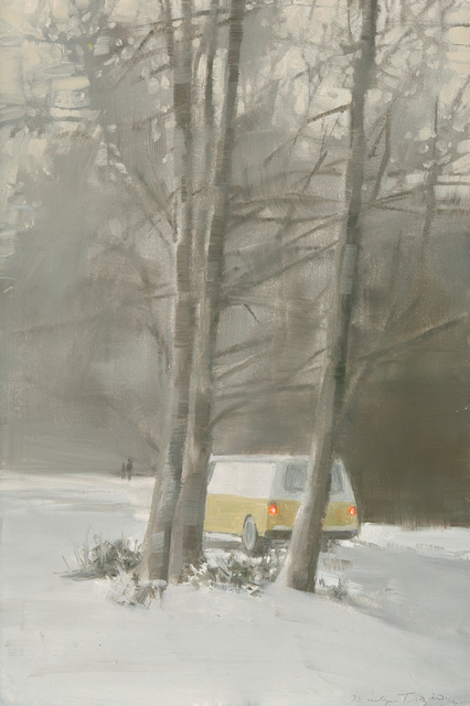 , 'Yellow Van in Snow,' , Dowling Walsh