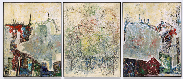 , 'Large Triptych,' 1964, Hirshhorn Museum and Sculpture Garden