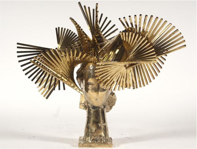 , 'Ivy Cabeza de Biarritz Dorada,' 2010, Rosenbaum Contemporary