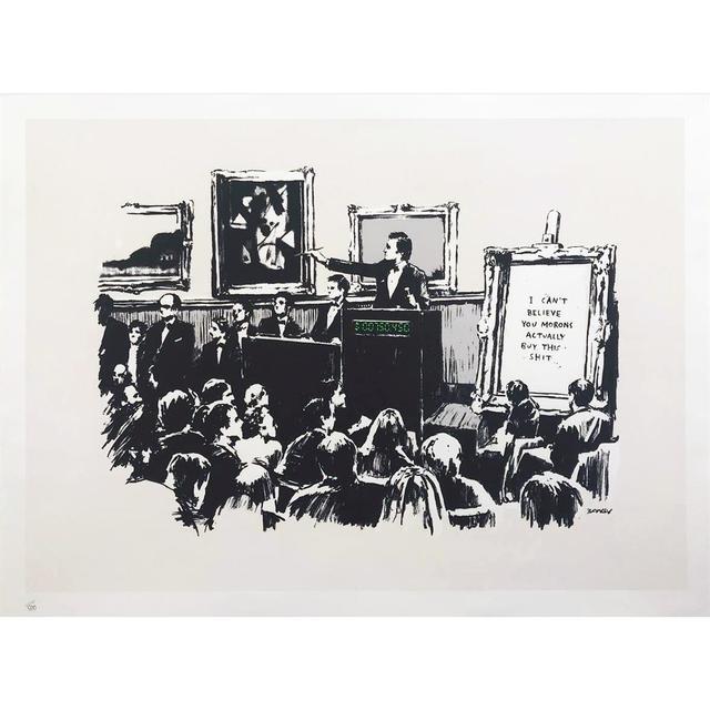 Banksy, 'Morons', 2007, The Drang Gallery