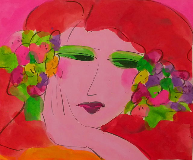 , 'Girl Lost in Thoughts,' 1990s, Alisan Fine Arts