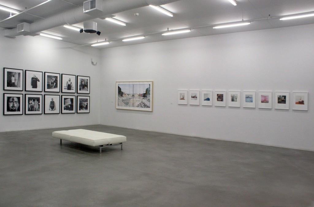 Installation of Brain Howell's Photographs