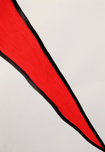, 'Red Split,' 2015, Charlie Smith London