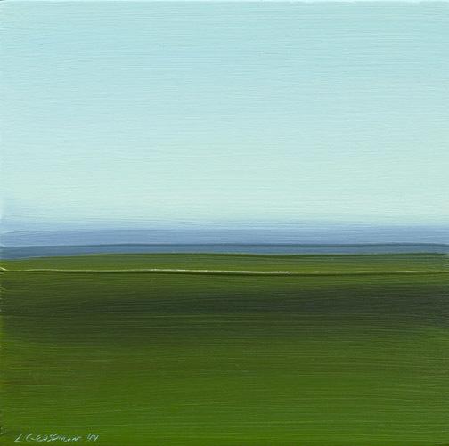 Lisa Grossman, 'Horizon - Green 1', 2014, Haw Contemporary