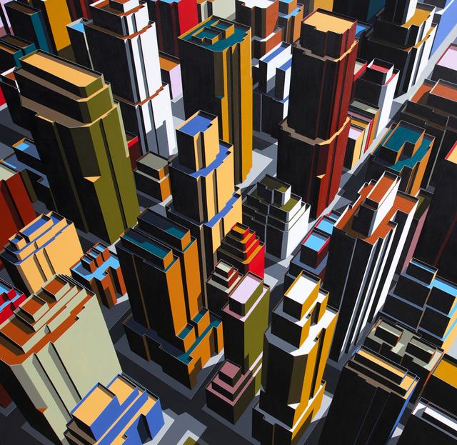 , 'la necesidad del contraluz,' 2014, Gallery Yeh