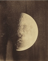 LUNAR PHOTOGRAPH, EXECUTED CA. 1855