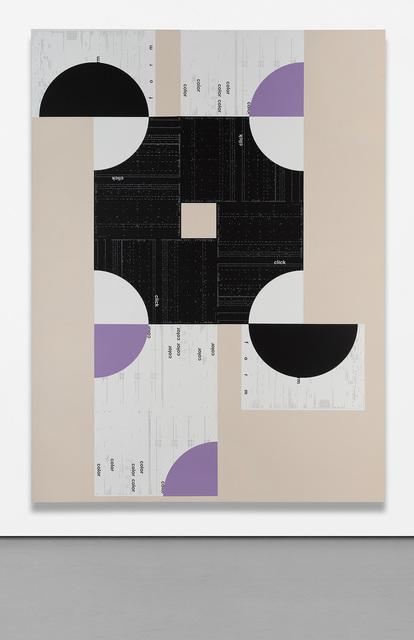 Michael Riedel, '26', 2011, Print, Silkscreen on linen, Phillips