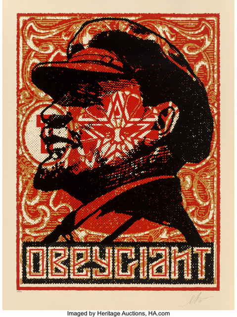 Shepard Fairey, 'Lenin Stamp 2018', 2018, Heritage Auctions