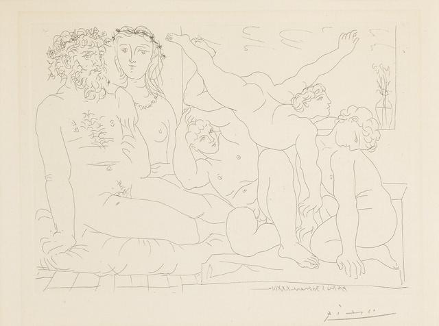Pablo Picasso, 'Famille de Saltimbanques (B. 163; Ba. 316)', 1933, Sotheby's