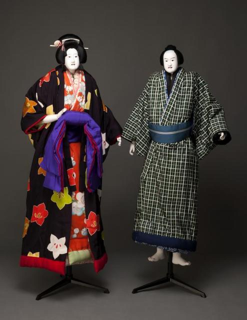 , 'The courtesan Ohatsu and the young man Tokubei,' 19th century, Musée national des arts asiatiques - Guimet