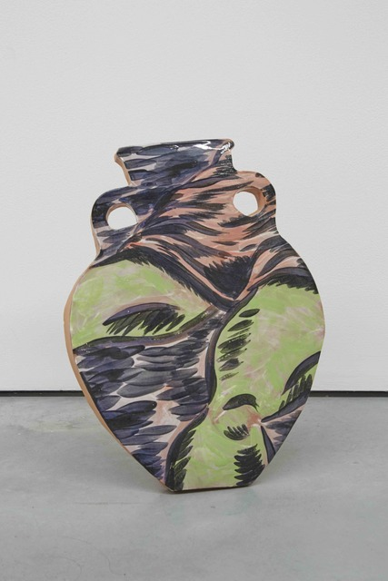 Christian Newby, 'CONQUERING THE IMAGINARY', 2016, Painting, Glazed ceramic, balsa wood stand, Patricia Fleming