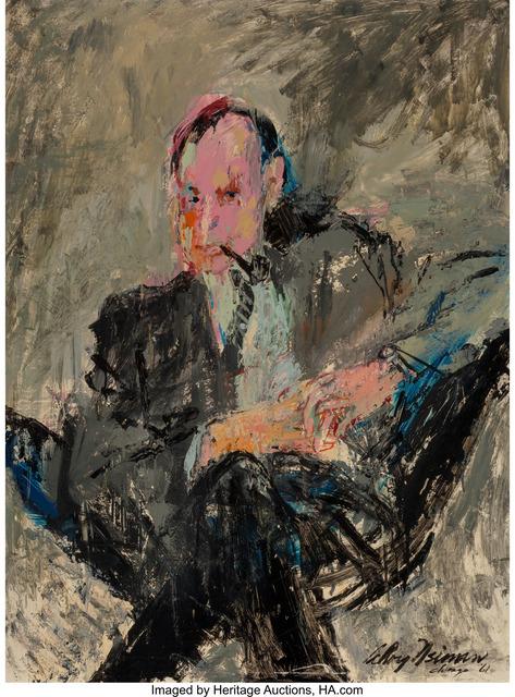LeRoy Neiman, 'Art Paul', 1961, Painting, Oil on board, Heritage Auctions