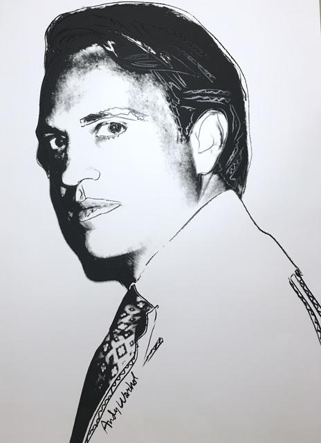 Andy Warhol, 'Carter Burden, unique', 1977, Verosa