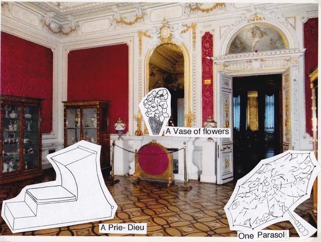 , 'Photomontage no. 2 for The Hermitage, room 305,' 2014, International Manifesta Foundation