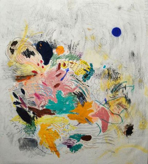 , 'Untitled (Blue Sun),' 2016, The Cash Register Art Project