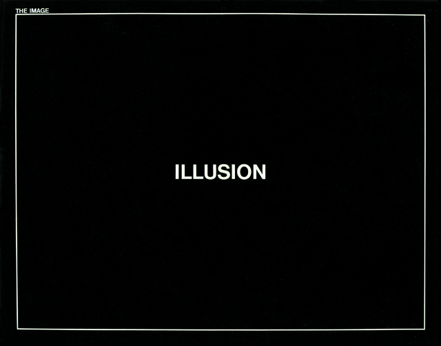 , 'The Image, Illusion,' 1971, Studio Nóbrega