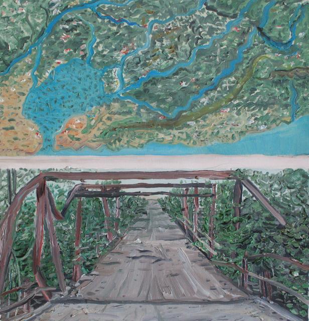 Christian Vinck, 'Según la tierra de los motillones y puente rojo en guarico. Monte y culebra, a monte espina', 2018, Diablo Rosso