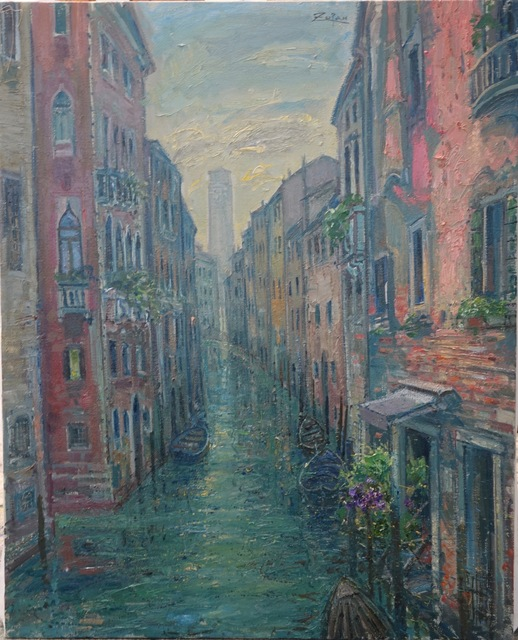 , 'Canal by San Polo, Frari Towers,' 2018, Galerie d'Orsay