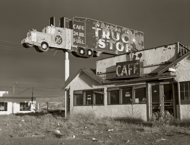 , 'Abandoned Truckstop, Highway I-80, Winnemucca, Nevada; 1970,' , photo-eye Gallery