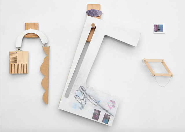 Abby Sherrill, 'Remnants (holders)', 2019, Galleri Urbane