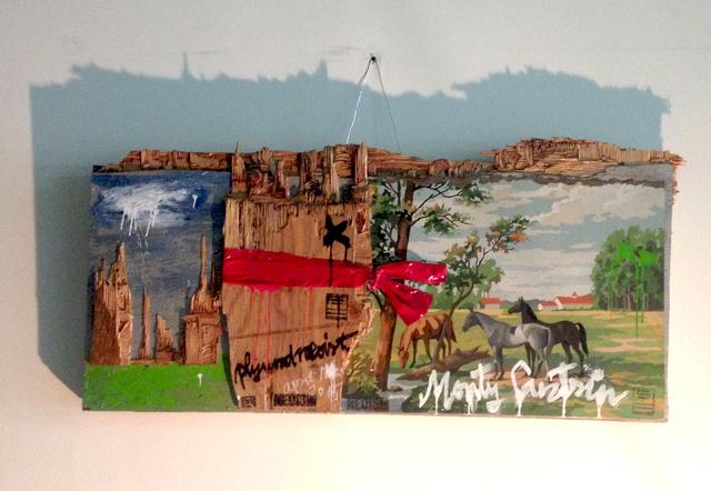 , 'Plywood Neoist,' 2015, Robert Kananaj Gallery
