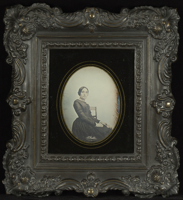 , 'Portrait of a Woman,' May 1844, J. Paul Getty Museum
