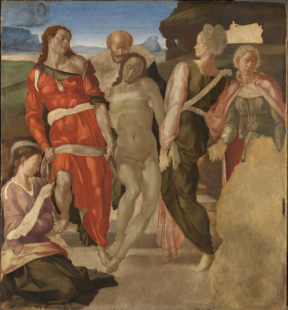 , 'The Entombment (or Christ being carried to his Tomb),' 1500-1501, The National Gallery, London